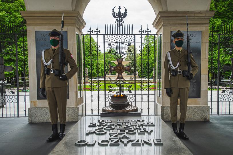 Grób Nieznanego Żołnierza w Warszawie /Fot. Karol Makurat/REPORTER /East News