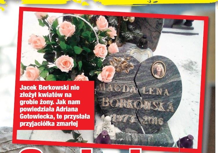Grób żony Borkowskiego /- /Twoje Imperium
