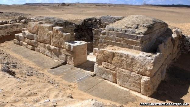 Grobowiec datuje się na czasy V Dynastii, czyli około 4 500 lat /Czech Instytut of Egyptology/BBC /INTERIA.PL