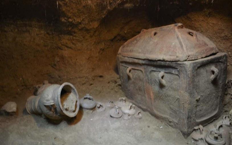 Grobowiec znaleziony na Krecie /materiały prasowe
