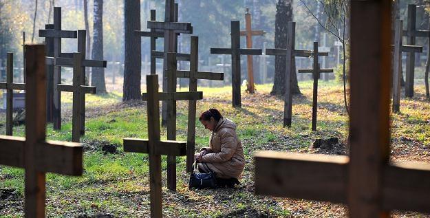 Groby ofiar stalinowskiego terroru w Kuropatach /AFP