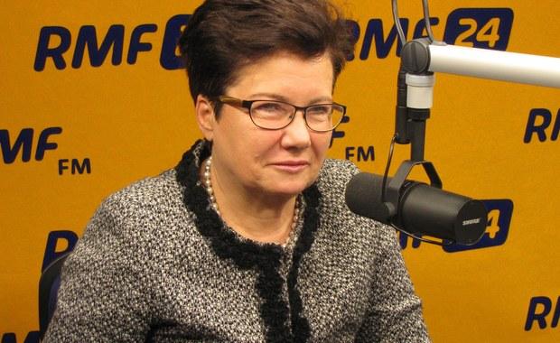 Gronkiewicz-Waltz w RMF FM: Lepiej się stało dla PO, że Tuska zmieniono na Kopacz