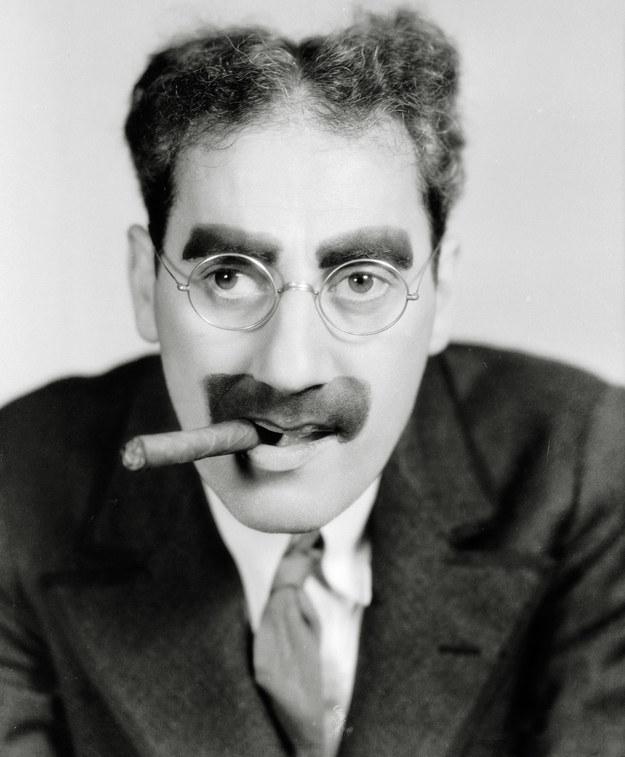 Groucho Marx nazywany jest jedną z twarzy Czarnego Czwartku / Photoshot    /PAP/Photoshot