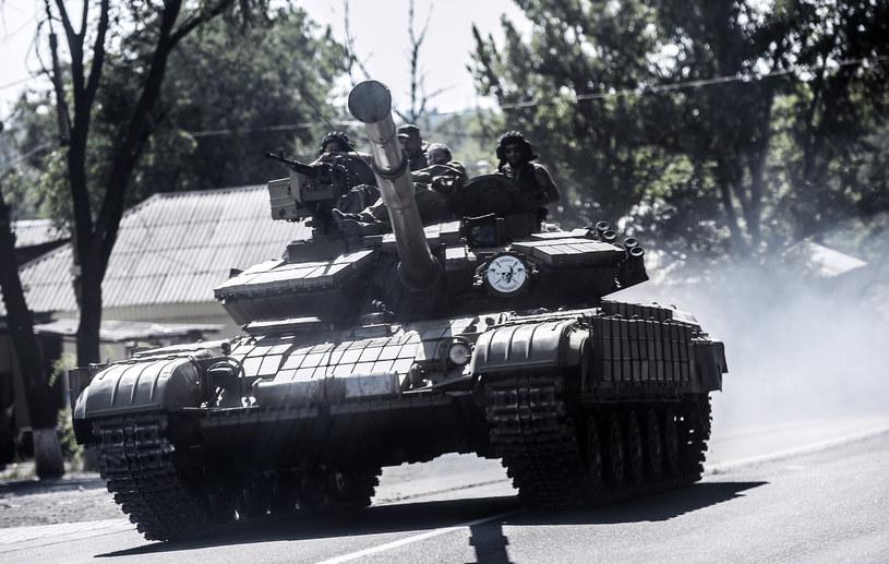 Groźba rosysjskiej agresji na Ukrainie jest niezwykle duża /AFP