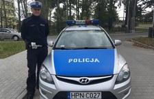00098O6U0BIMOJMJ-C307 Groźna kolizja, sytuację opanował policjant