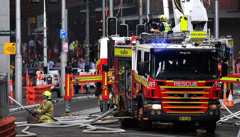Groźny pożar w Perth: Szereg eksplozji, ewakuacja mieszkańców (zdjęcie ilustracyjne) /SAEED KHAN /AFP