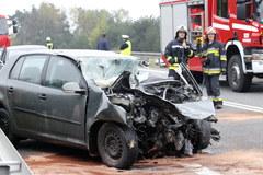 Groźny wypadek na S1 w Śląskiem