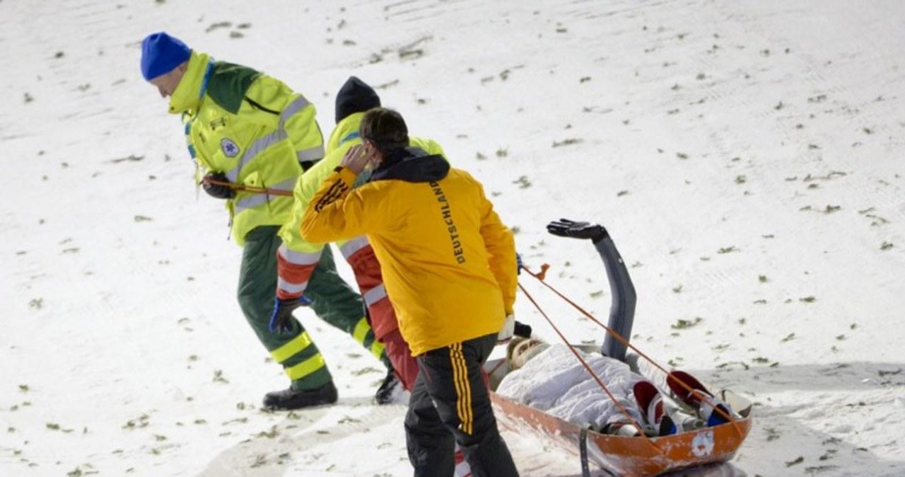 Groźny wypadek Niemca na zawodach w Kuusamo