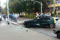 Groźny wypadek w Bytomiu