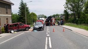 Groźny wypadek w Spytkowicach