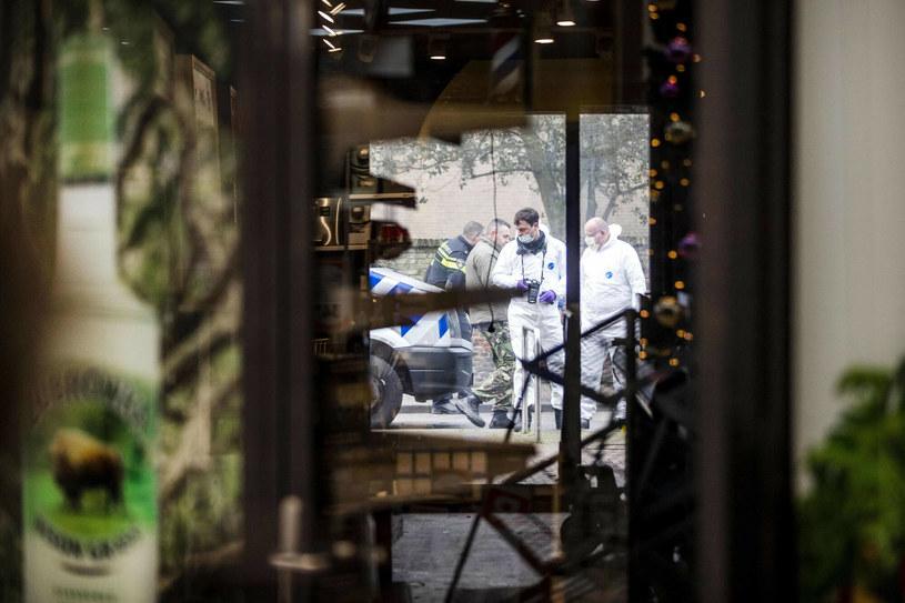 """Grudniowa eksplozja w """"polskim"""" sklepie w Beverwijk (arch.) /REMKO DE WAAL/AFP /East News"""
