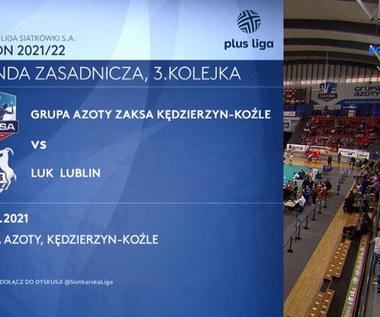 Grupa Azoty ZAKSA Kędzierzyn-Koźle - LUK Lublin. Skrót. WIDEO (Polsat Sport)