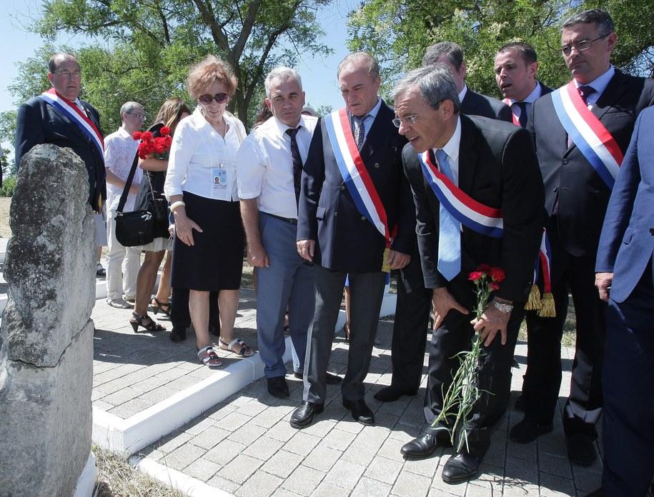 Grupa francuskich deputowanych odwiedziła Krym /ARTUR SHVARTS /PAP/EPA