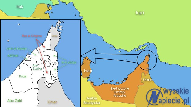 Grupa PGNiG będzie prowadzić działania poszukiwawcze w północnej części Emiratu Ras Al-Chajma /INTERIA.PL