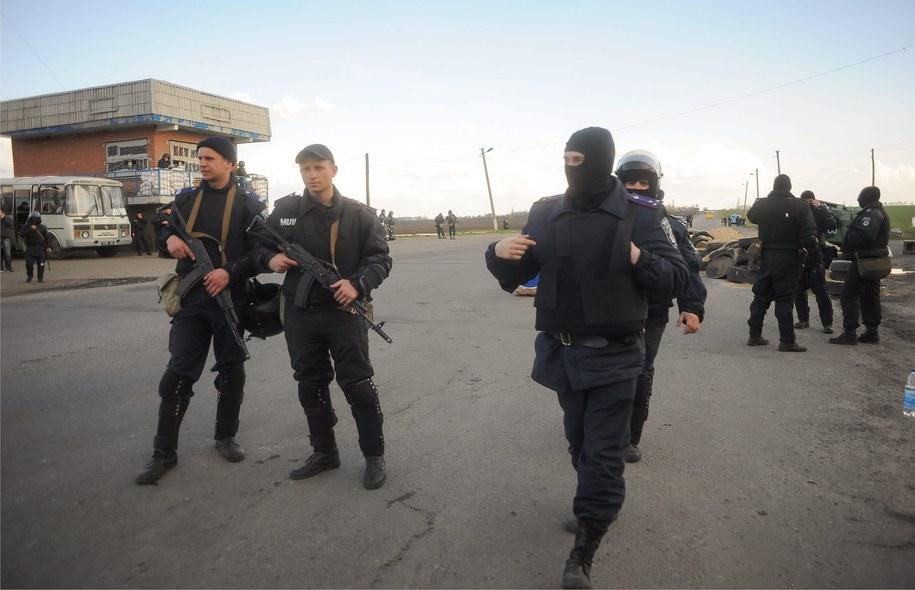 Grupa separatytystów /ROMAN PILIPEY /PAP/EPA