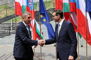 Grupa Wyszehradzka: Premierzy państw V4 spotkali się w Katowicach