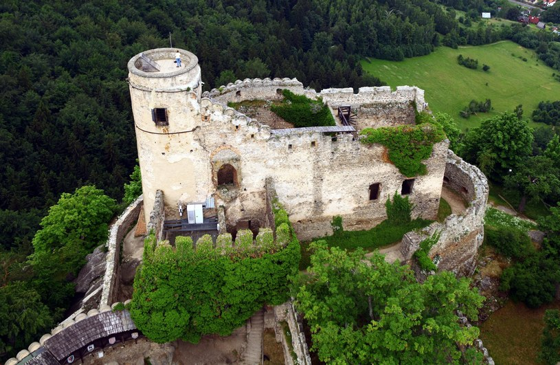 Grupa z Janem Pawłem II nocowała na zamku Chojnik/fot. Krystian Trela /Reporter