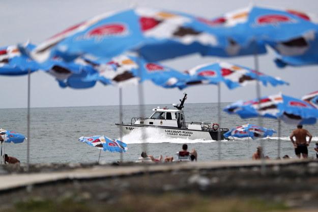 Gruzińskie Batumi nad Morzem Czarnym /ZURAB KURTSIKIDZE /PAP/EPA