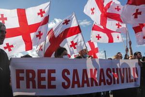 Gruzja: Demonstracja w geście poparcia dla Saakaszwilego