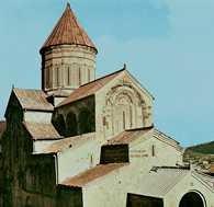 Gruzja, katedra Sweti Cchoweli w Mcchecie /Encyklopedia Internautica