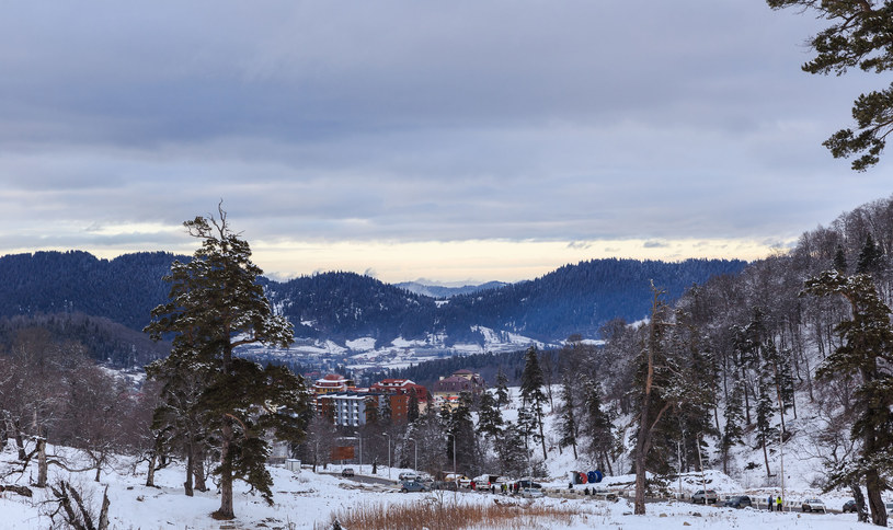Gruzja, ośrodek narciarski w Bakuriani /Alexander Melnikov /123RF/PICSEL