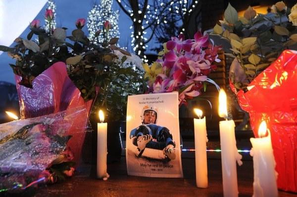 Gruzja pogrążyła się w żałobie po śmierci młodego saneczkarza /AFP