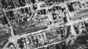 Gruzy, barykady, schrony i swastyki... Powstanie Warszawskie na niemieckim zdjęciu lotniczym