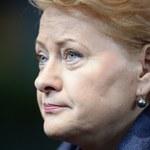 Grybauskaite: Nie kolaborowałam z partią komunistyczną