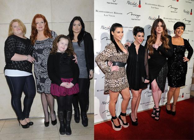 Grycanki kontra rodzina Kardashian /Jarosław Antoniak/ Getty Images /MWMedia