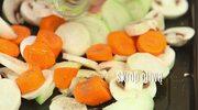 Gryczany pasztet z pieczonych warzyw - przepis