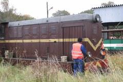 Gryficka kolejka jedzie pociągiem do remontu