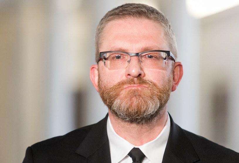 Grzegorz Braun, poseł Konfederacji /Tomasz Jastrzębowski /Reporter