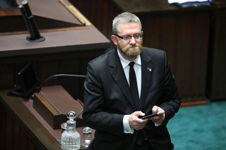 Grzegorz Braun /Wojciech Olkuśnik /PAP