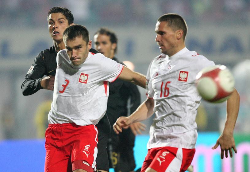 Grzegorz Bronowicki podczas meczu Polska - Portugalia powstrzymał samego Cristiano Ronaldo /LUKASZ GROCHALA/CYFRASPORT / NEWSPIX.PL /Newspix