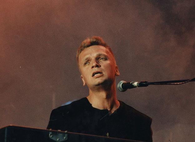 Grzegorz Ciechowski na scenie - fot. Marek Zieliński /East News
