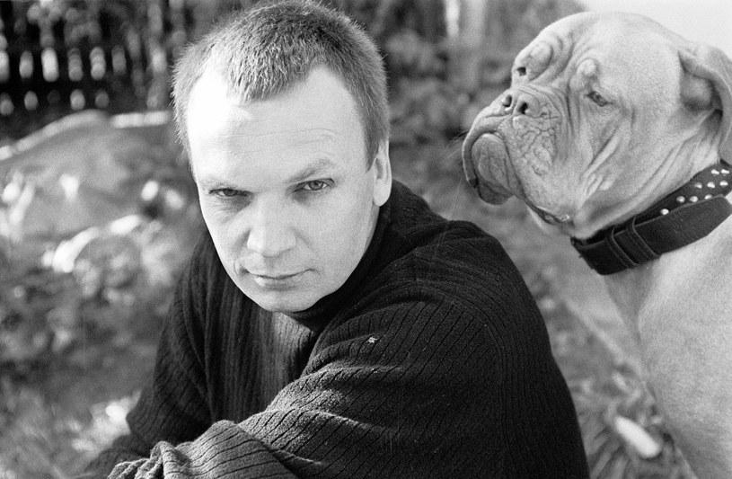 Grzegorz Ciechowski w 1998 r., fot. Yola/FOTONOVA /East News