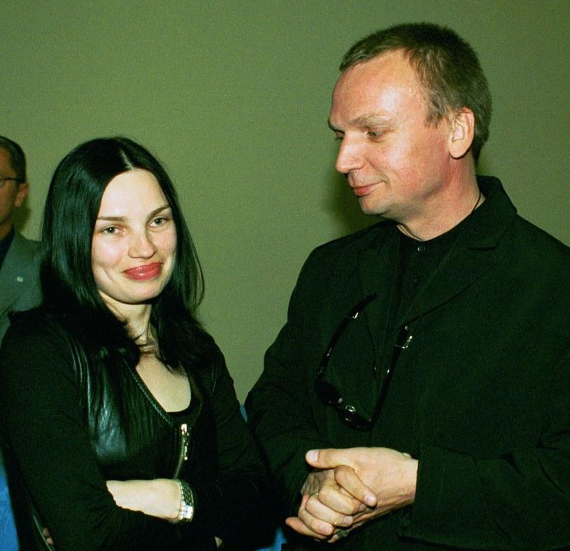 Grzegorz Ciechowski z Anną /Krzysztof Wojda /Reporter