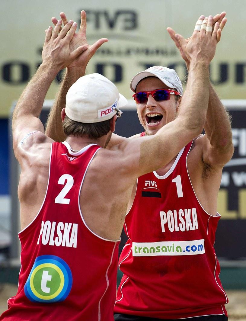 Grzegorz Fijałek (z lewej) i Mariusz Prudel /AFP