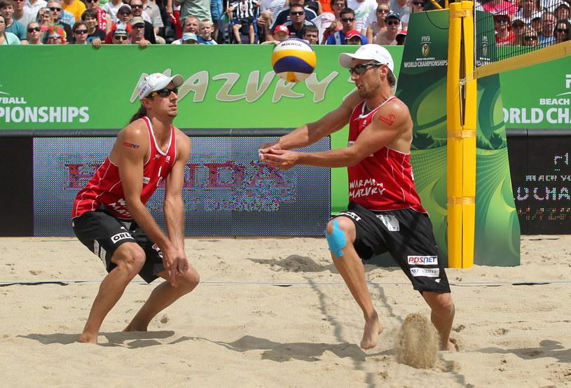 Grzegorz Fijałek (z prawej) i Mariusz Prudel /Tomasz Waszczuk /PAP