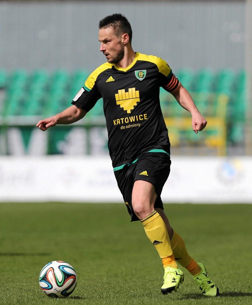 Grzegorz Goncerz, napastnik GKS-u Katowice /