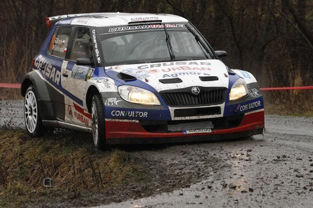Grzegorz Grzyb  - Daniel Siatkowski (Skoda Fabia S2000) Fot. Marek Wicher /INTERIA.PL