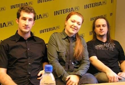 Grzegorz Gustof, Paula Maślanka, Jarek Baran (Delight) /INTERIA.PL
