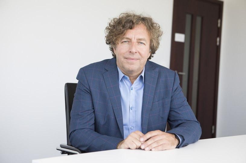 Grzegorz Hajdarowicz, główny akcjonariusz spółek KCI i Gremi Media /Fot. Robert Gardziński / Rz. /&nbsp