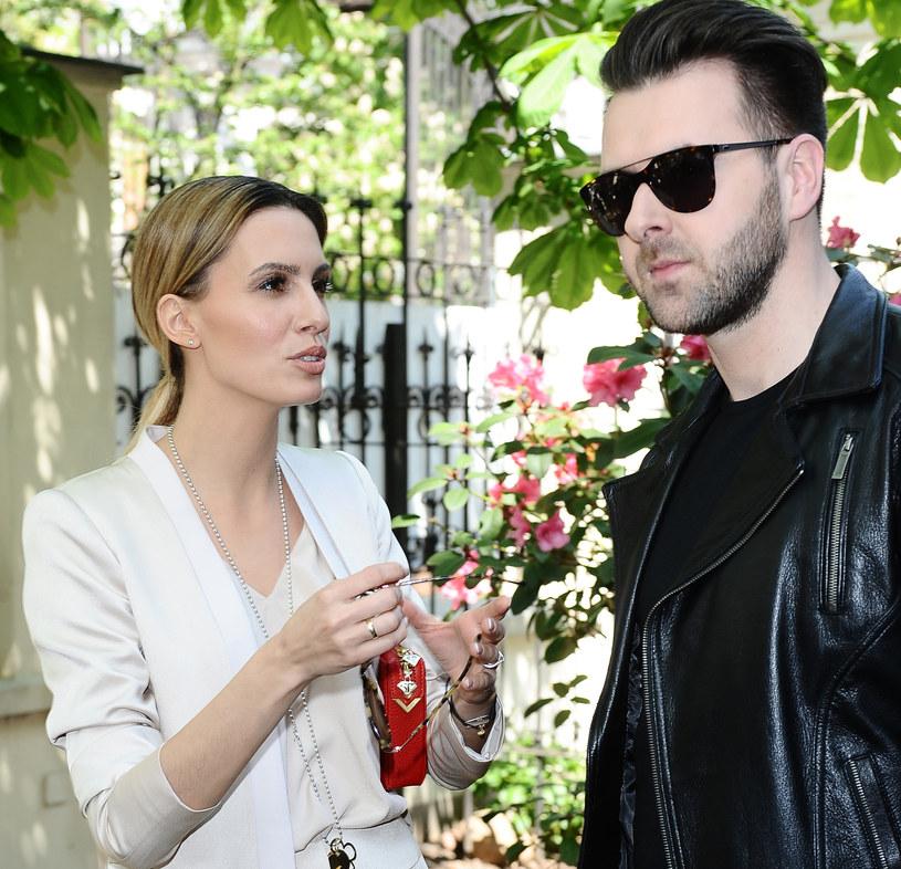 Grzegorz Hyży i Agnieszka Hyży /Andras Szilagyi /MWMedia