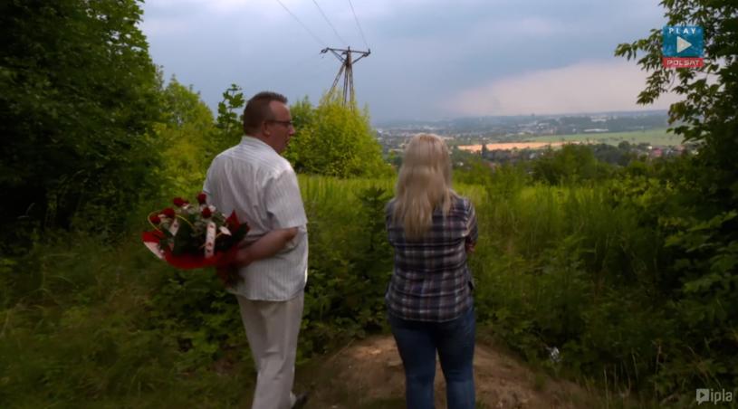 Grzegorz i Agnieszka w dniu zaręczyn /Polsat Play/Ipla /Polsat