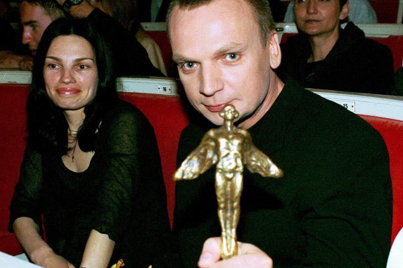 Grzegorz i Anna wzięli ślub w 1994 r. /Krzysztof Wojda /Reporter