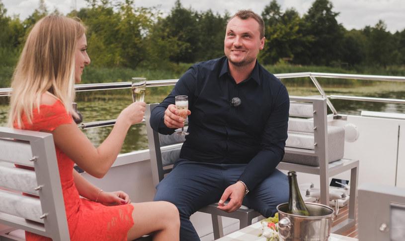 """Grzegorz i Dorota na nagraniach """"Rolnik szuka żony"""" /Agencja FORUM"""