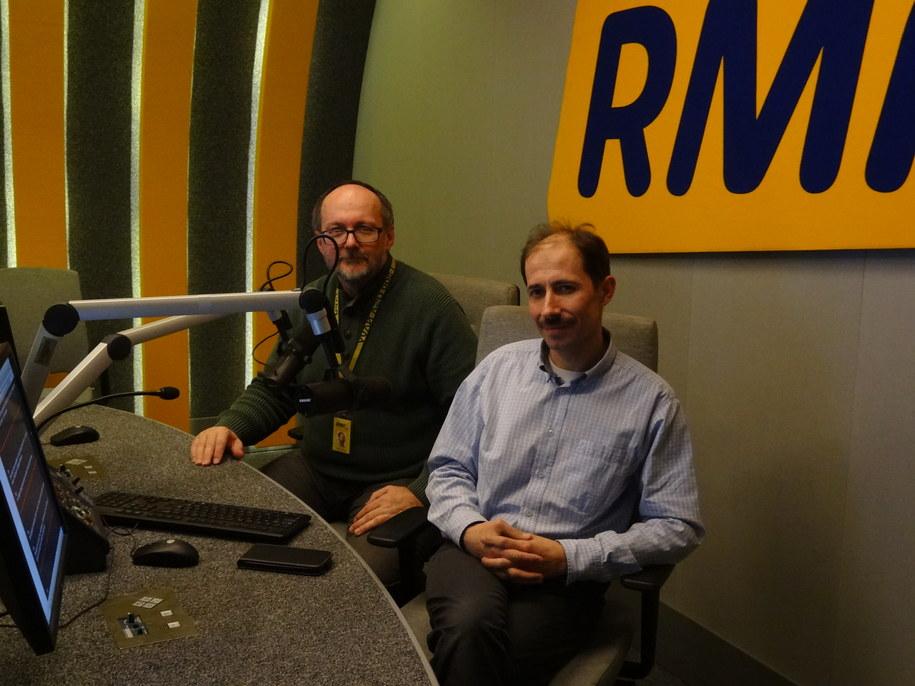 Grzegorz Jasiński z doktorem Leszkiem Lachowiczem /Magdalena Partyła /RMF FM