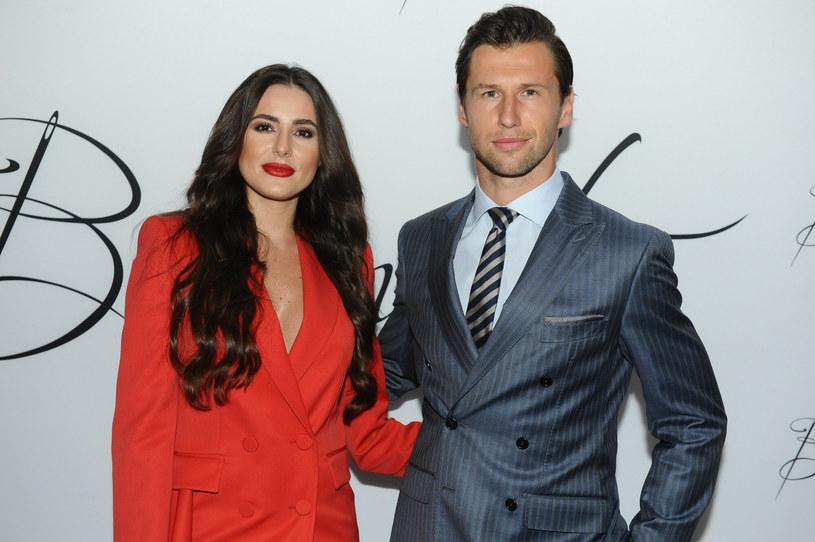 Grzegorz Krychowiak i jego żona Celia /East News /East News