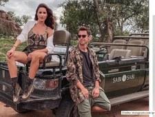Grzegorz Krychowiak na safari w RPA. Wideo